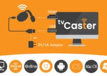 tv caster installation