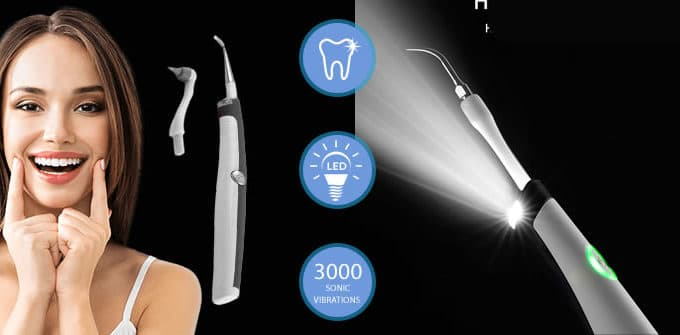 SoniClean ultrasonic tooth cleaner
