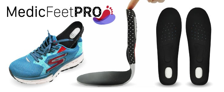 medic feet pro the best shoe inserts for walking and for flat feet