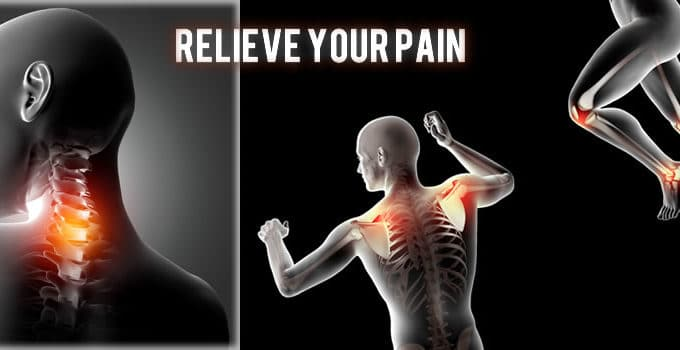 back pain neck pain and muscle pain relief