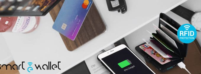 ewallet the smart wallet for keep secure your cards