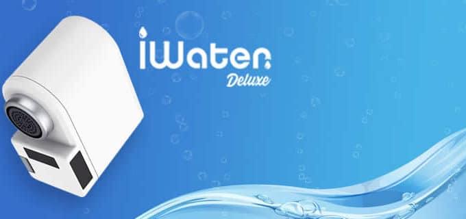iWater Deluxe grifo para ahorrar agua