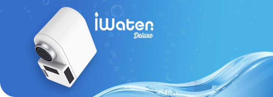 iWater Deluxe smart tap water saving