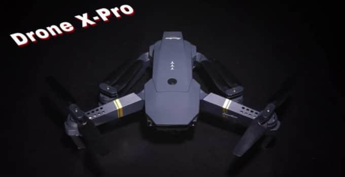 Drone X pro mini dron con cámara HD