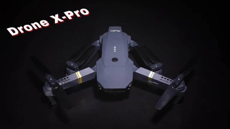 Mini drone Drone X pro avec caméra HD, avis test et opinions