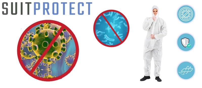 LifeProtectX suit protect against disease
