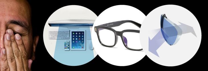 Blue Blockers meilleur filtre pour protéger la vue de la lumière bleue