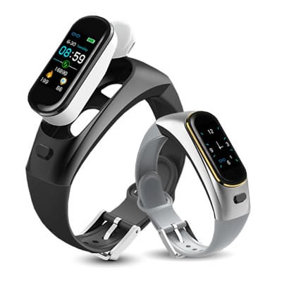 dual iwatch smartband with Freehands