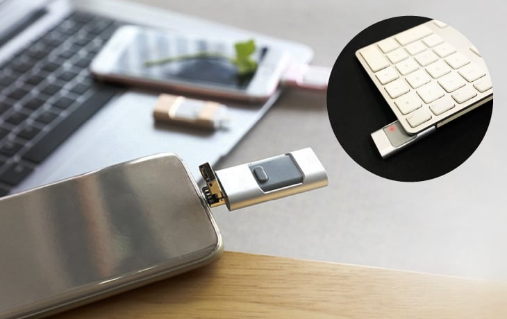 flash drive lápiz de memoria para móvil