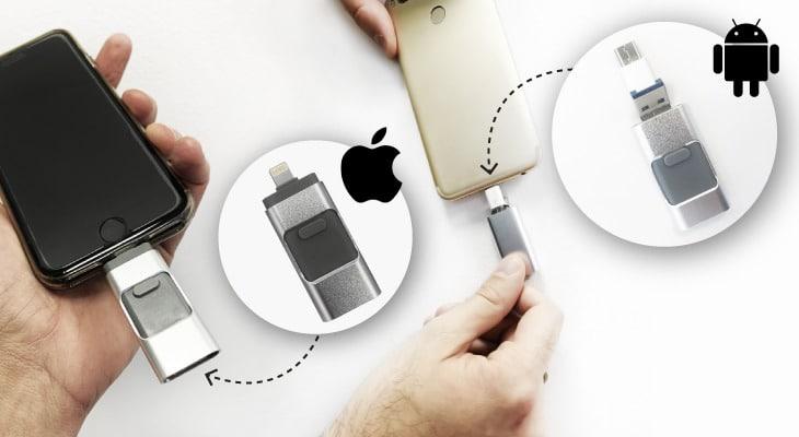 lápiz de memoria flash para móvil