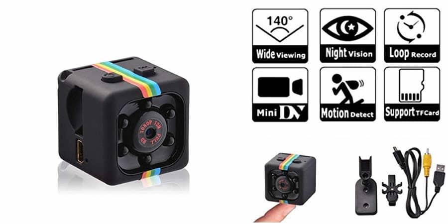Minicam Pro, la meilleure mini caméra espion sans fil