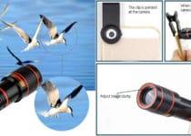 true lens fotos panorámicas en el teléfono móvil