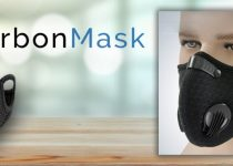 CarbonMask mask N95 with double carbon filter cheaper