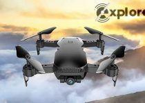 Explore Air drone with camera HD 90 degree