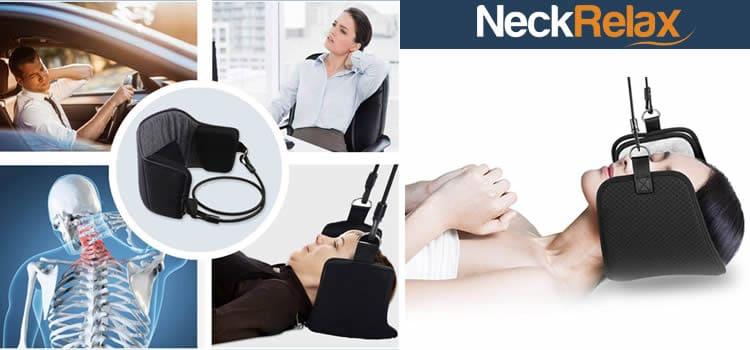 Neck Relax aparato de correas relajante para el dolor de cuello