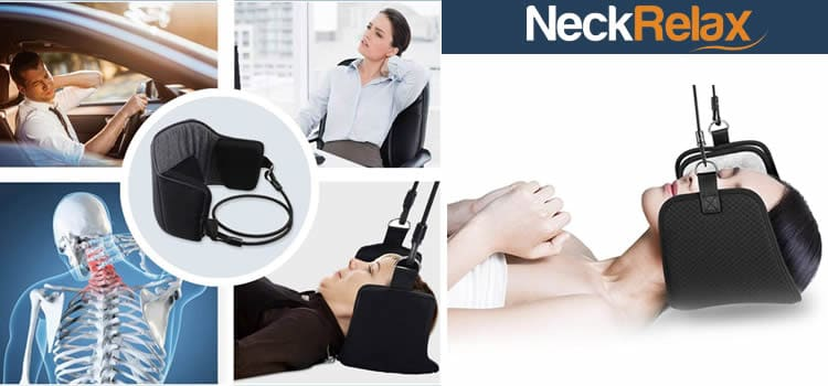Neck Relax device in straps for neck pain reviews and opinions