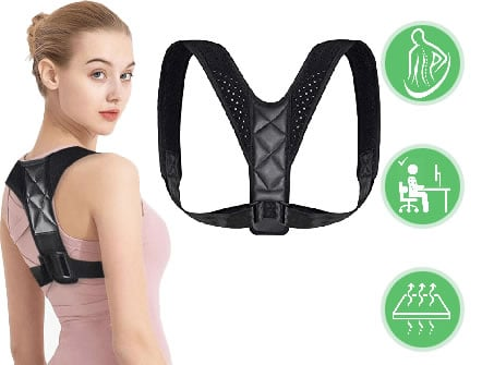 posture corrector to avoid lumbar contractures Backhero