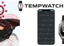 Tempwatch smartwatch with infrared thermometer