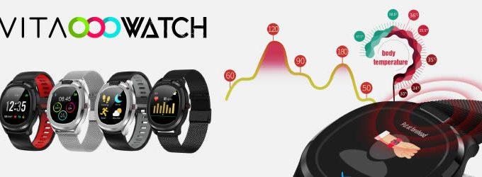 Vita Watch el smartwatch con termómetro corporal