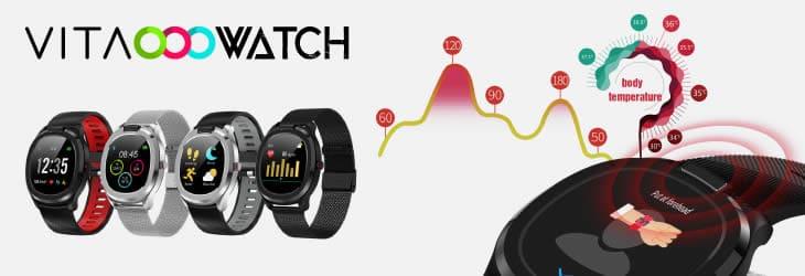 Vita Watch la smartwatch avec thermometre corporel avis et opinions