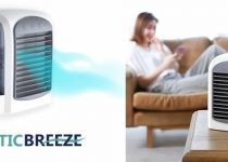 Arcticbreeze humidificador enfriador de aire