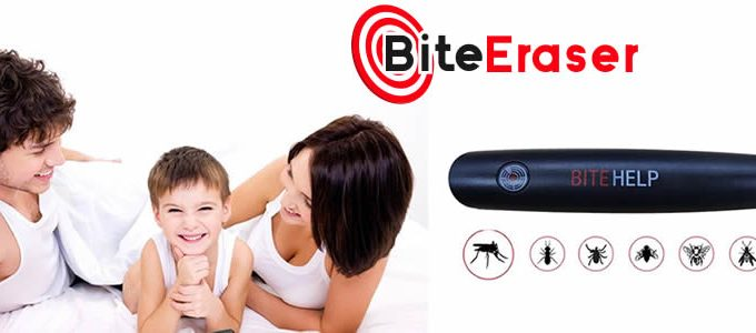 Biteeraser relieves the itch from mosquito bites and insects