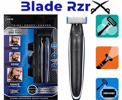 Blade Razor RzrX the new electric razor led without irritation