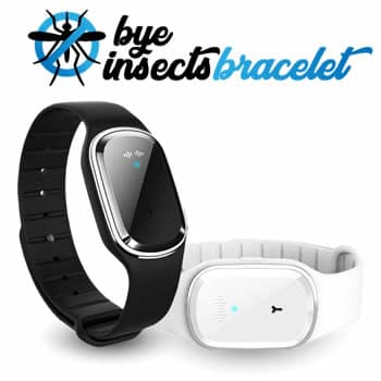brazalete reloj antimosquitos repelente de insectos Bye Insect