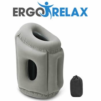 buy Ergorelax the ergonomic inflatable pillow