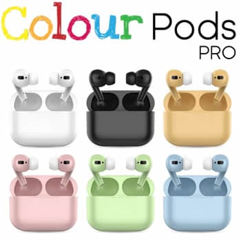 Colour Pods Pro casque sans fil de couleur pas cher