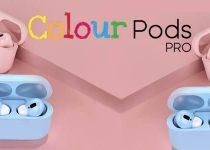 Colour Pods Pro ecouteurs sans fil de couleur