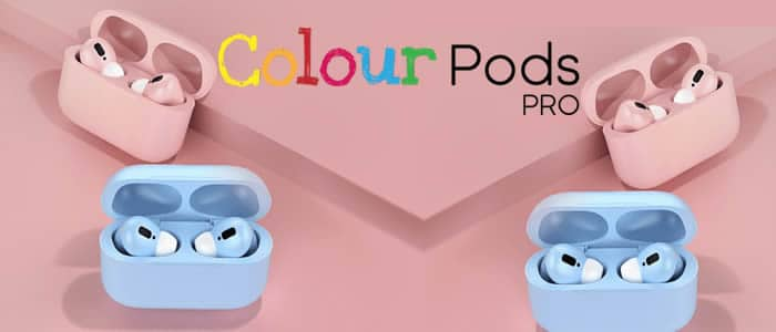 Colour Pods Pro auriculares inalámbricos de colores