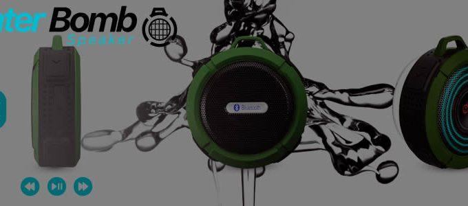 Water Bomb Speaker comprar altavoz bluetooth impermeable
