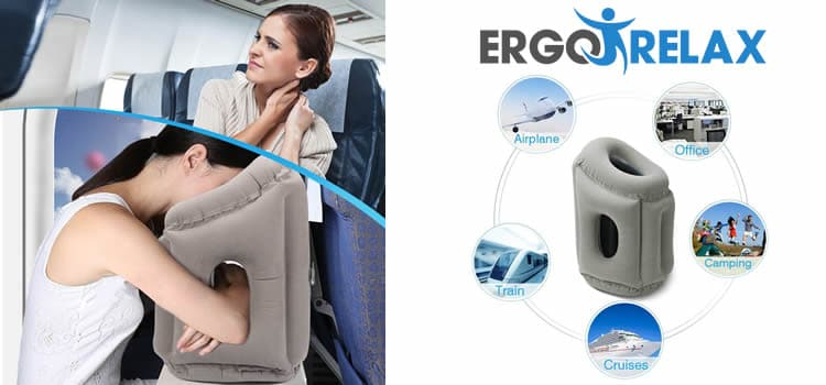 Ergorelax the neck ergonomic inflatable pillow reviews