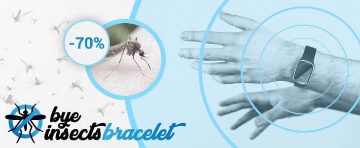 reseñas y opiniones de Bye Insect el reloj anti mosquitos Mozzy Watch por ultrasonido