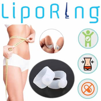 fat burning satiety ring by acupressure Liporing