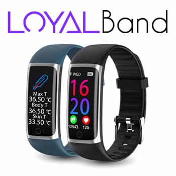 Buy smartband with body thermometer Loyal Band