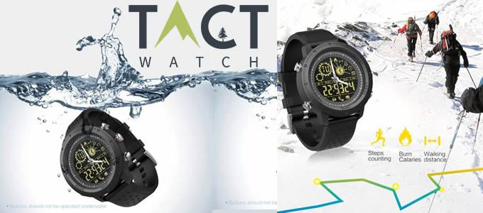 tactical smartwatch Tact Watch avis et opinions