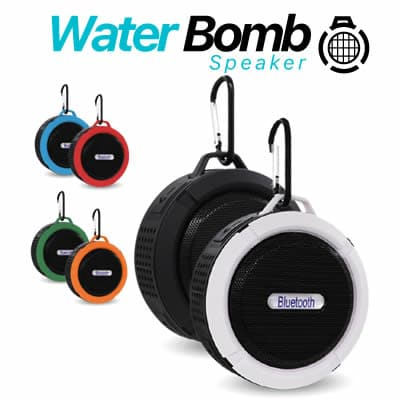 Water Bomb Speaker reviews of waterproof bluetooth speaker