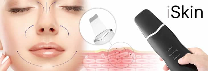iSkin facial rejuvenating by peeling ultrasonic reviews and opinions