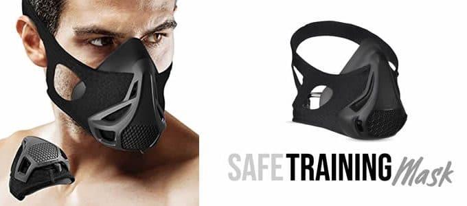 Training Mask pro breathing mask in training
