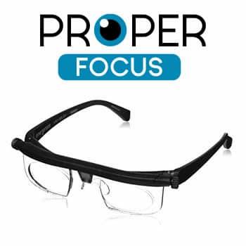 acheter ProperFocus lunettes réglables pour la vue fatiguée