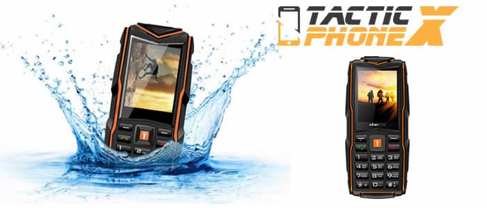 Buy Tactic Phone X phone resistant to shocks and water reviews and opinions