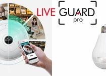 caméra espion LiveGuard Pro caché dans ampoule avis et opinions