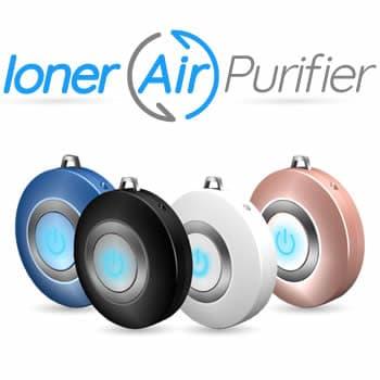 depurador de aire por ozono portátil Ioner Air Purifier reseñas y opiniones