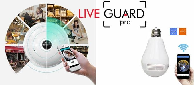 LiveGuard Pro spy camera hidden in bulb reviews and opinions