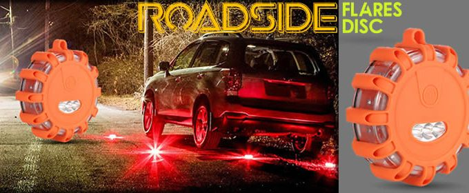 Roadside Flares Disc the new emergency help flash light review price and opinions