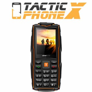 Tactic Phone X phone resistant to shocks and water reviews and opinions