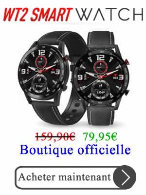acheter WT2 Smartwatch online