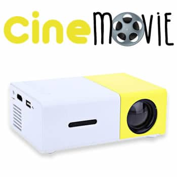 buy Cine Movie mini projector portable HD reviews and opinions